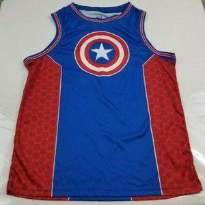 Marvel Comics Captain America Shield Tank Top M